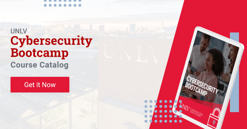 discover the UNLV Cybersecurity Bootcamp course catalog